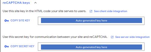 Adding Google reCAPTCHA in D365 Marketing Forms